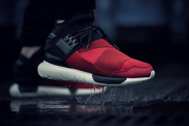 "Adidas Y3 Qasa High ""Royal red"""